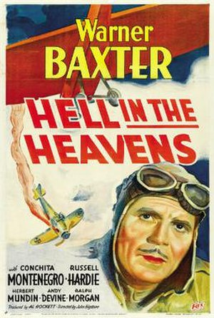 Hell in the Heavens - Theatrical release poster