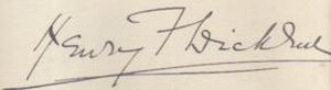 Henry Fielding Dickens - Image: Henry dickens signature