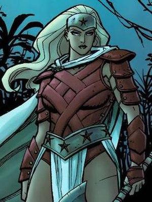 Hippolyta (DC Comics) - Image: Hippolyta New 52 Look