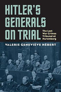 <i>Hitlers Generals on Trial</i>