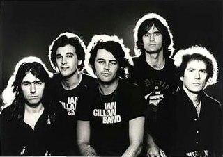 Ian Gillan Band band fronted by Ian Gillan