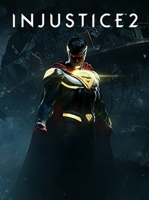 Injustice 2 - Cover art for the standard edition of the game, featuring Superman