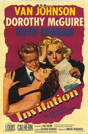 Invitation (film) - Image: Invitation Film Poster