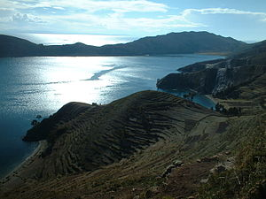 Isla del Sol - A view of the island