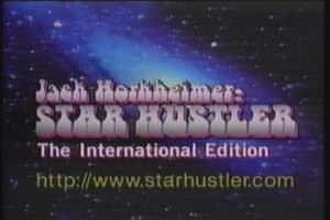 Star Gazers - Title screen for Jack Horkheimer: Star Hustler, showing the starhustler.com URL before the name change in 1997