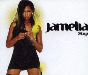 Stop! (Sam Brown song) - Image: Jamelia Stop (Promo)