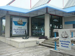 Jacksonville Maritime Museum - Museum on the Riverwalk before returning to the Landing in 2011