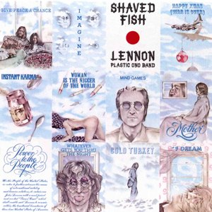 Shaved Fish - Image: John Lennon albums shavedfish