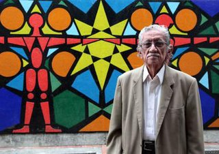 Ecuadorian muralist, painter, and writer