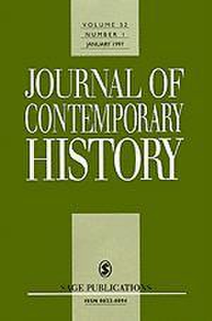 Journal of Contemporary History - Image: Journal of Contemporary History