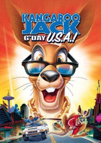 Kangaroo Jack: G'Day U.S.A.! - Poster