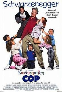 <i>Kindergarten Cop</i> 1990 action comedy film directed by Ivan Reitman