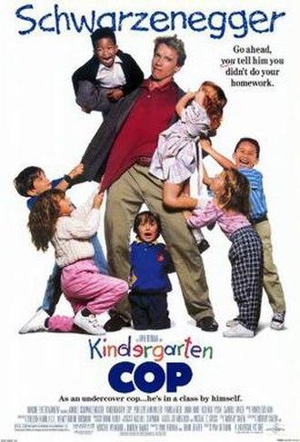 Kindergarten Cop - Theatrical release poster