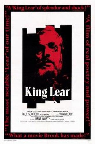 King Lear (1971 UK film) - Film poster