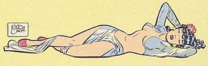 Male Call - Milton Caniff's Lace, the central character of Male Call