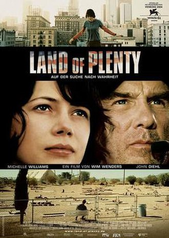 Land of Plenty - German poster