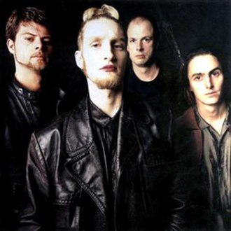 Mad Season (band) - Mad Season in 1995, left to right: Barrett Martin, Layne Staley, John Baker Saunders and Mike McCready