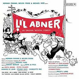 Image result for l'il abner musical