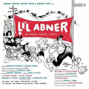 Li'l Abner (musical) - 1956 Original Cast Recording