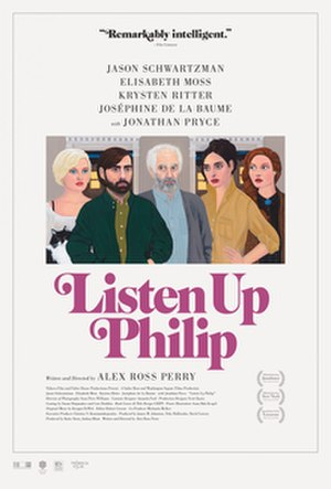 Listen Up Philip - Theatrical release poster
