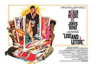 <i>Live and Let Die</i> (film) 1973 James Bond film by Guy Hamilton