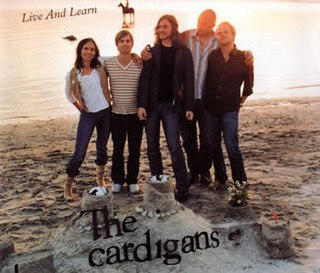 Live and Learn (The Cardigans song) 2003 single by The Cardigans