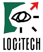 Second Logitech logo, used from 1989 to 1996.