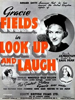 <i>Look Up and Laugh</i> 1935 film by Basil Dean
