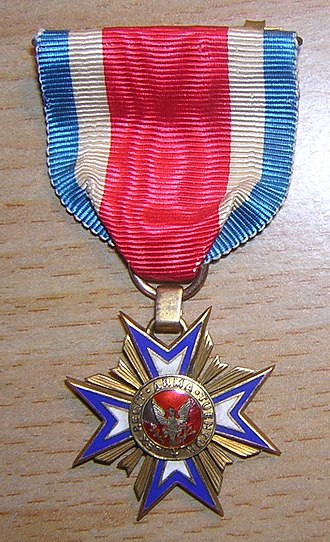 Military Order of the Loyal Legion of the United States - Image: MOLLUS membership medal 2