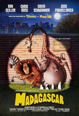 Madagascar (2005 film) - Theatrical release poster