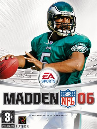 2005 in video gaming - Image: Madden 06