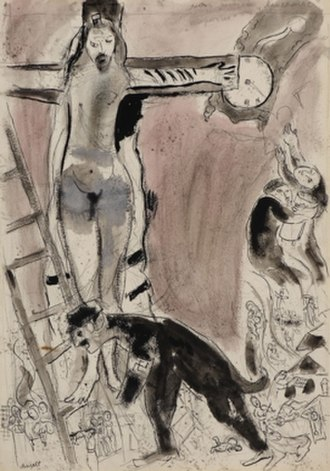 Apocalypse in Lilac, Capriccio - Image: Marc Chagall Apocalypse in Lilac, Capriccio