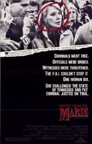 Marie (film) - Theatrical release poster