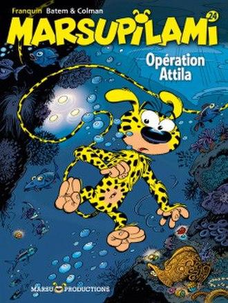 Marsupilami - Opération Attila, 2011. Art by Batem, story by Colman.