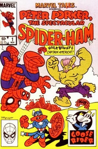Spider-Ham - Image: Marvel Tails 1 cover