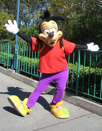 Max Goof - Theme park incarnation of Max