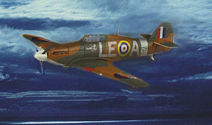 "Willie McKnight - ""Willie"" McKnight's Hurricane Mk I"