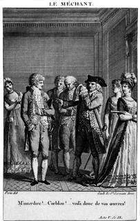 <i>Le Méchant</i> play written by Jean-Baptiste-Louis Gresset