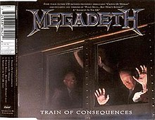 Megadeth - Train of Consequences UK CD single.jpg