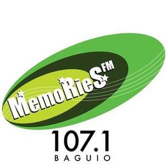 DZLL-FM - Image: Memo Rie S FM 107.1 Baguio