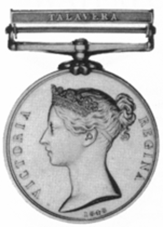 Military General Service Medal - Image: Military GS Mobv