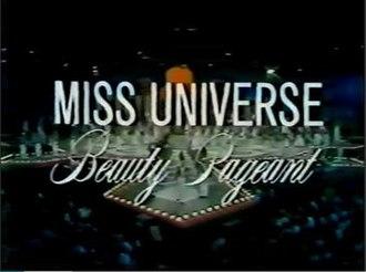 Miss Universe 1974 - Image: Miss Universe 1974 opening titles