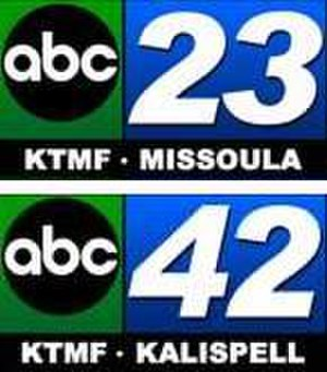 "KTMF - KTMF's ""ABC 23"" and ""ABC 42"" logos, used during the mid-2000s"