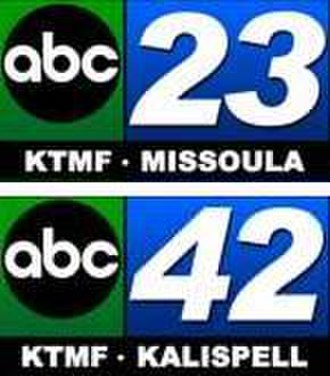 """KTMF - KTMF's """"ABC 23"""" and """"ABC 42"""" logos, used during the mid-2000s"""