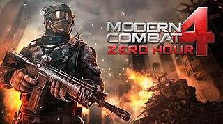<i>Modern Combat 4: Zero Hour</i>