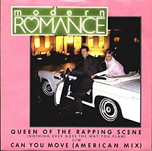 Modern Romance Can You Move Queen of the Rapping Scene Single US.jpg