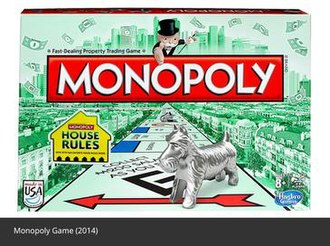 Monopoly (game) - 2014 U.S. Monopoly box