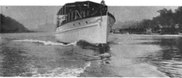 Motor yacht Edithena starboard bow view 1914