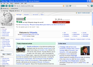 Netscape (web browser) family of web browsers