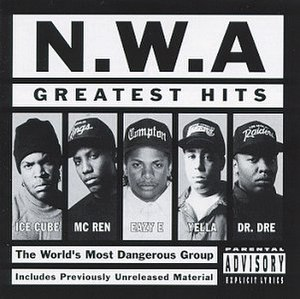 Greatest Hits (N.W.A album) - Image: NWA Greatest Hits